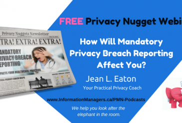 How Will Mandatory Privacy Breach Reporting Affect You?