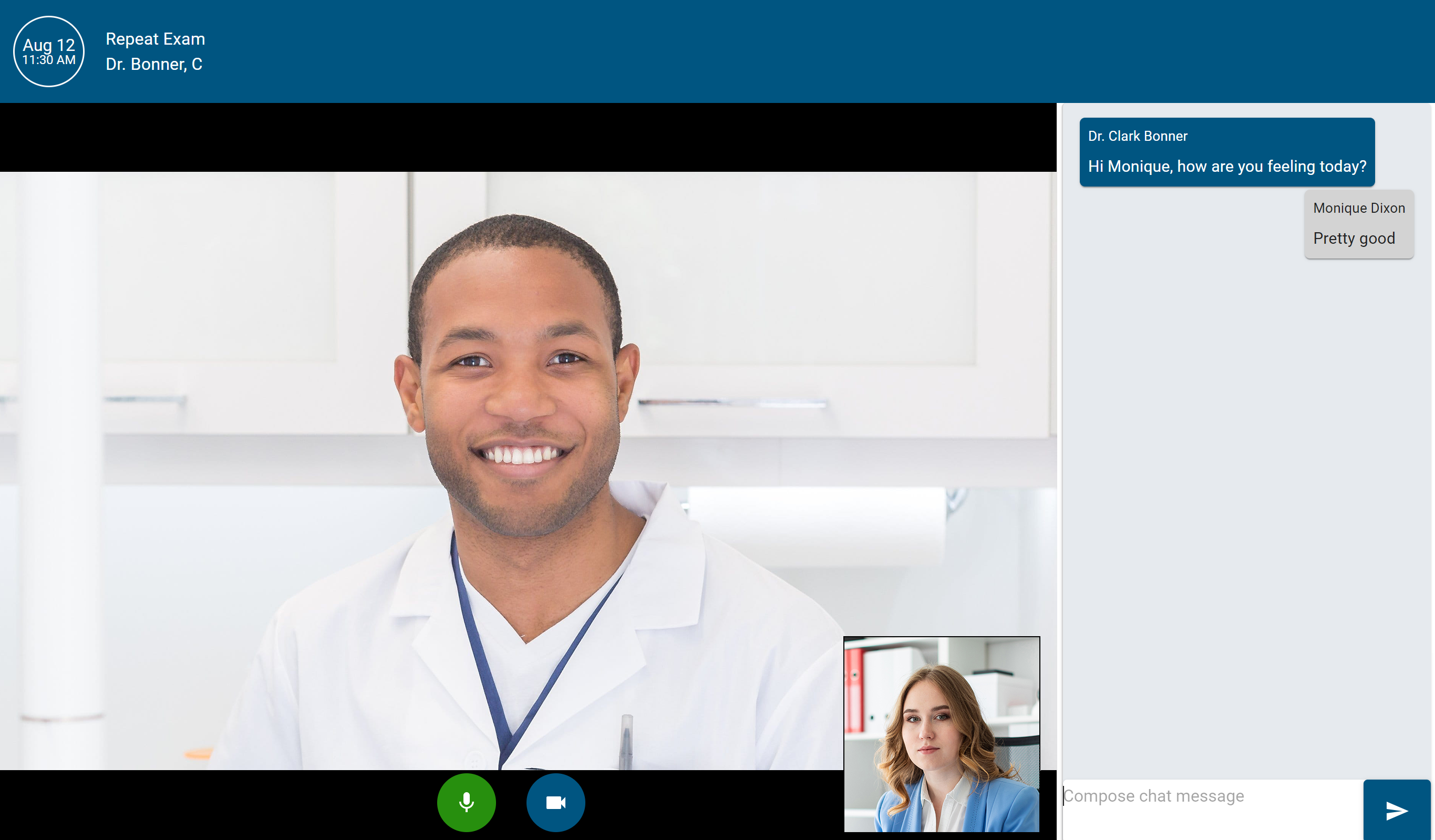 Video Chat Composite